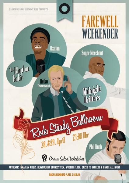Rock Steady Ballroom - Farewell Weekender