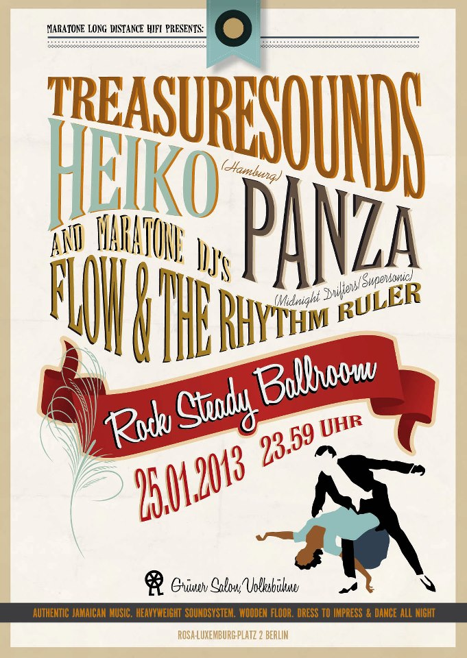 Rock Steady Ballroom Heiko Treasuresounds