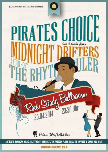 Rock Steady Ballroom Pirates Choice