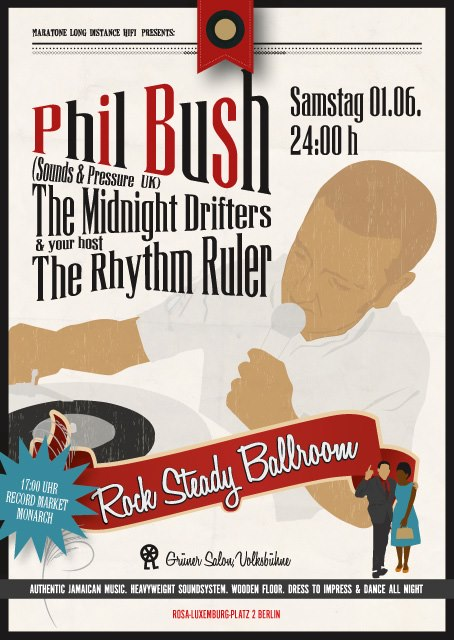 Rock Steady Ballroom Phil Bush