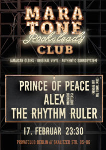 Maratone Rocksteady Club mit dem Prince of Peace